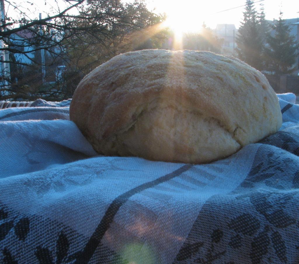Bochenek chleba, pyszny chleb, chleb kukurydziany, sprawdzony przepis na chleb kukurydziany
