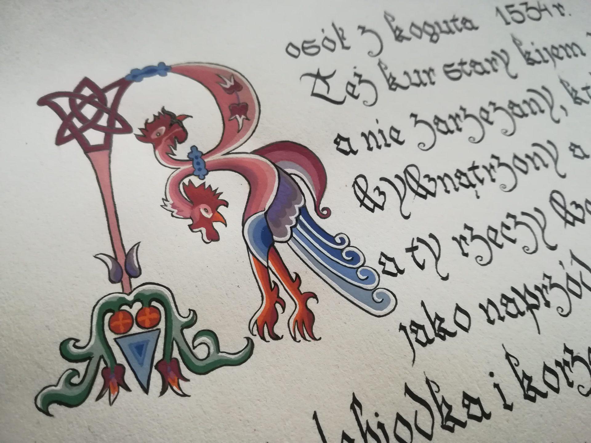 Domowy szafran (Rosół z koguta), 1534 r.