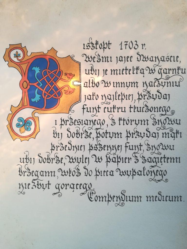 najstarszy przepis na biszkopt, biszkopt przepis staropolski, kuchnia staropolska biszkopt