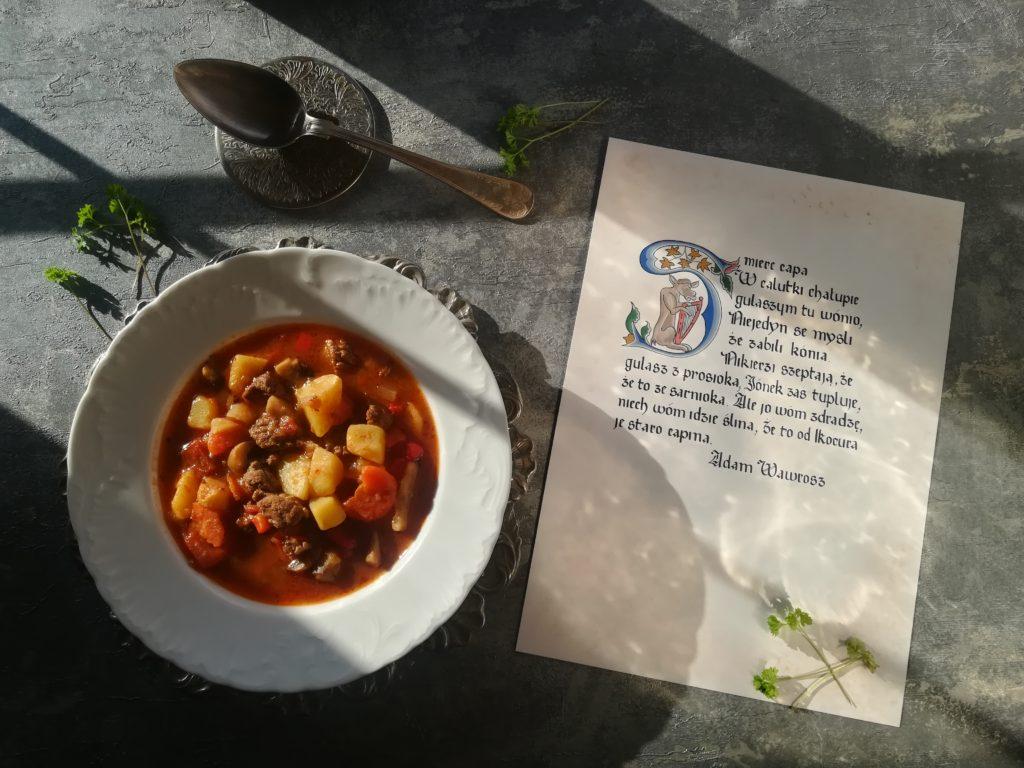 najlepsza zupa gulaszowa, tradycyjna zupa gulaszowa, zupa gulaszowa stara receptura