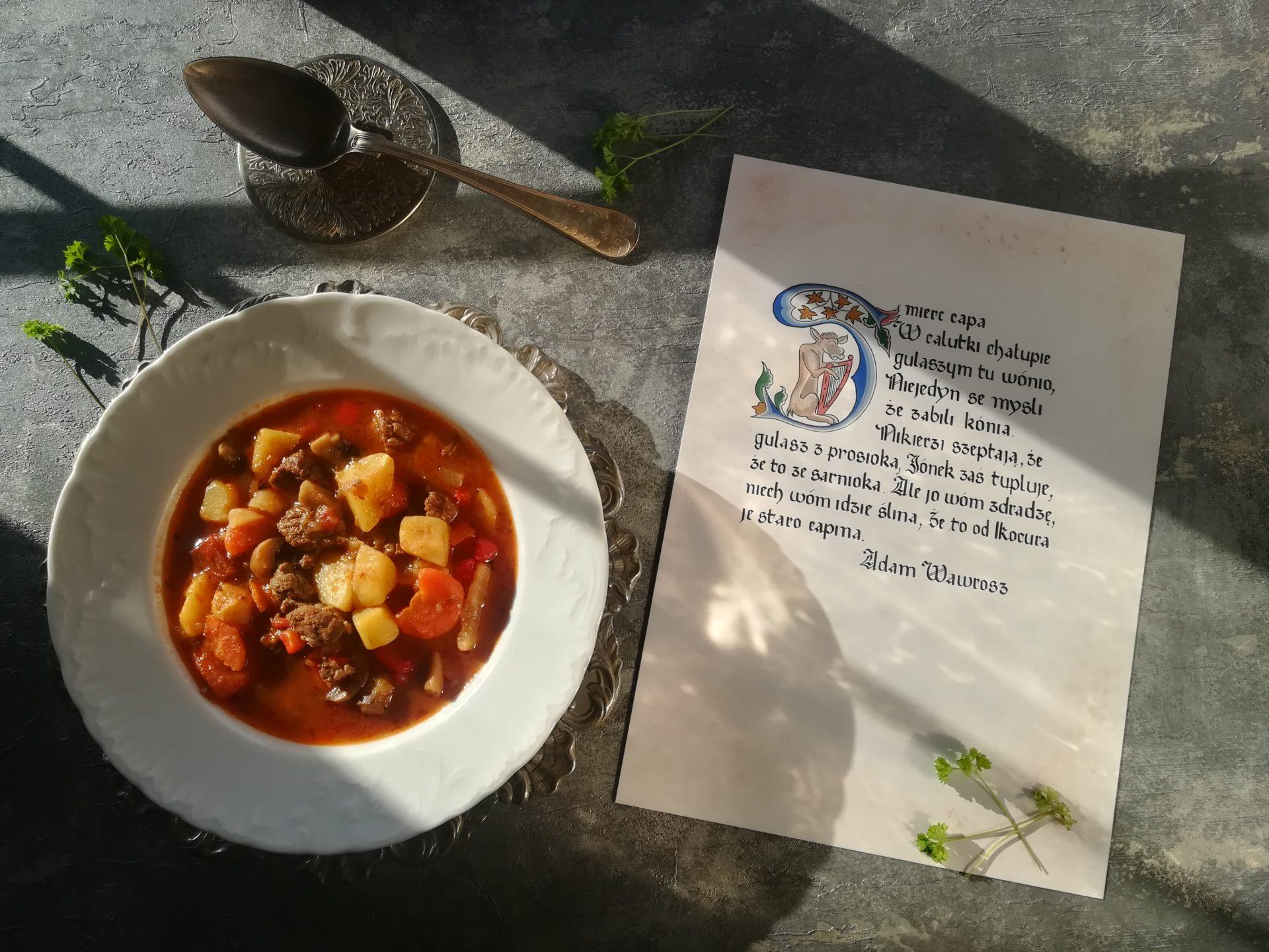 Tradycyjna zupa gulaszowa