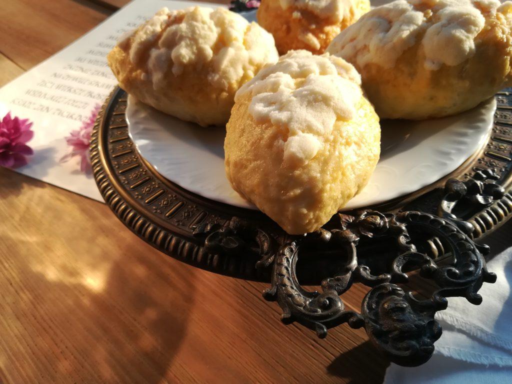 tradycyjne jagodzianki, przepis na jagodzianki, jagodzianki małopolkskie