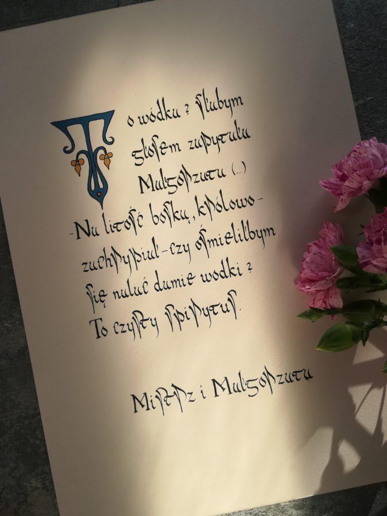 Mistrz i Małgorzata, cytaty Sylwester,