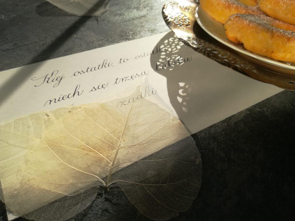 kaligrafia małopolska, kaligrafia kulinarna, kaligrafia literacka, kaligrafia zapusty, kaligrafia ostatki, kursywa angielska