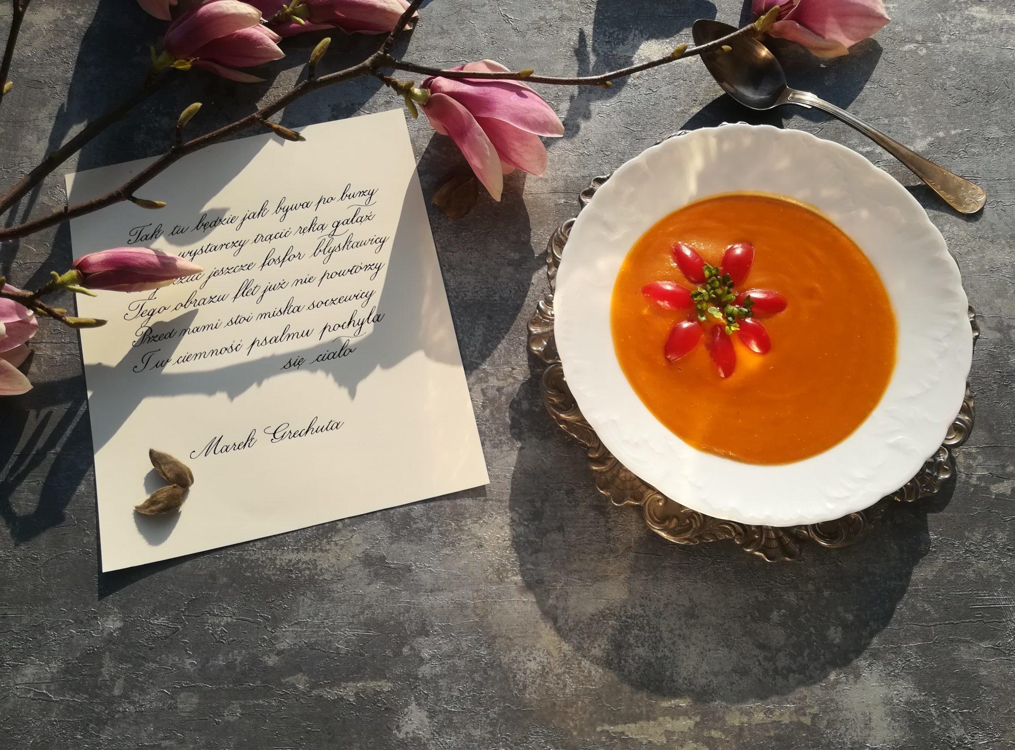 Zupa z soczewicy i selera naciowego