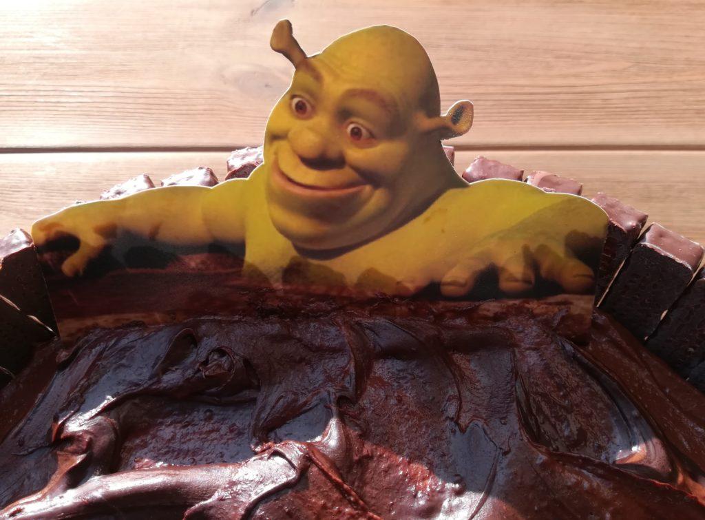 to moje bagno, tort Shrek, masy do tortów, efektowne torty
