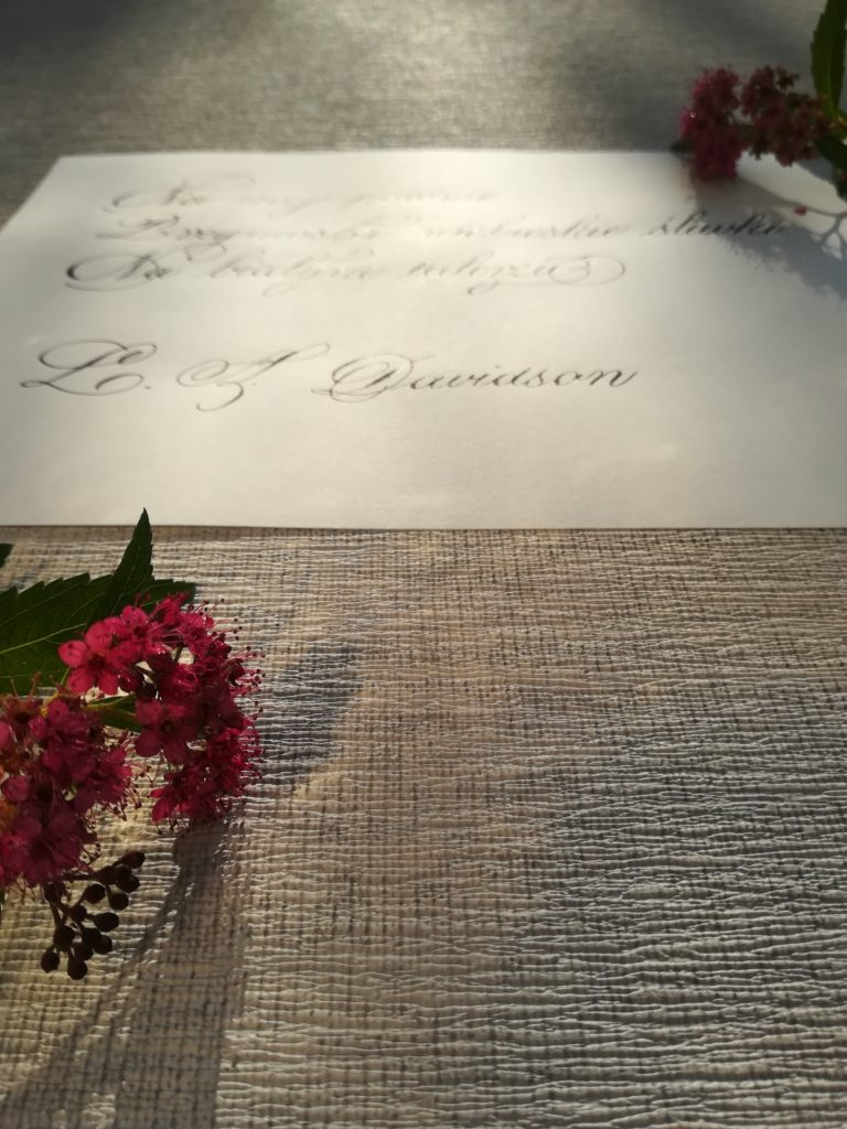 kaligrafia kulinarna, kaligrafia Davidson, kaligrafia teksty, kaligrafia Wieliczka, kaligrafia Niepołomice, food calligraphy, foodblogger, passion