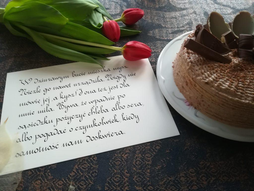 tort bananowy, tort czekoladowo-bananowy, szybki torcik