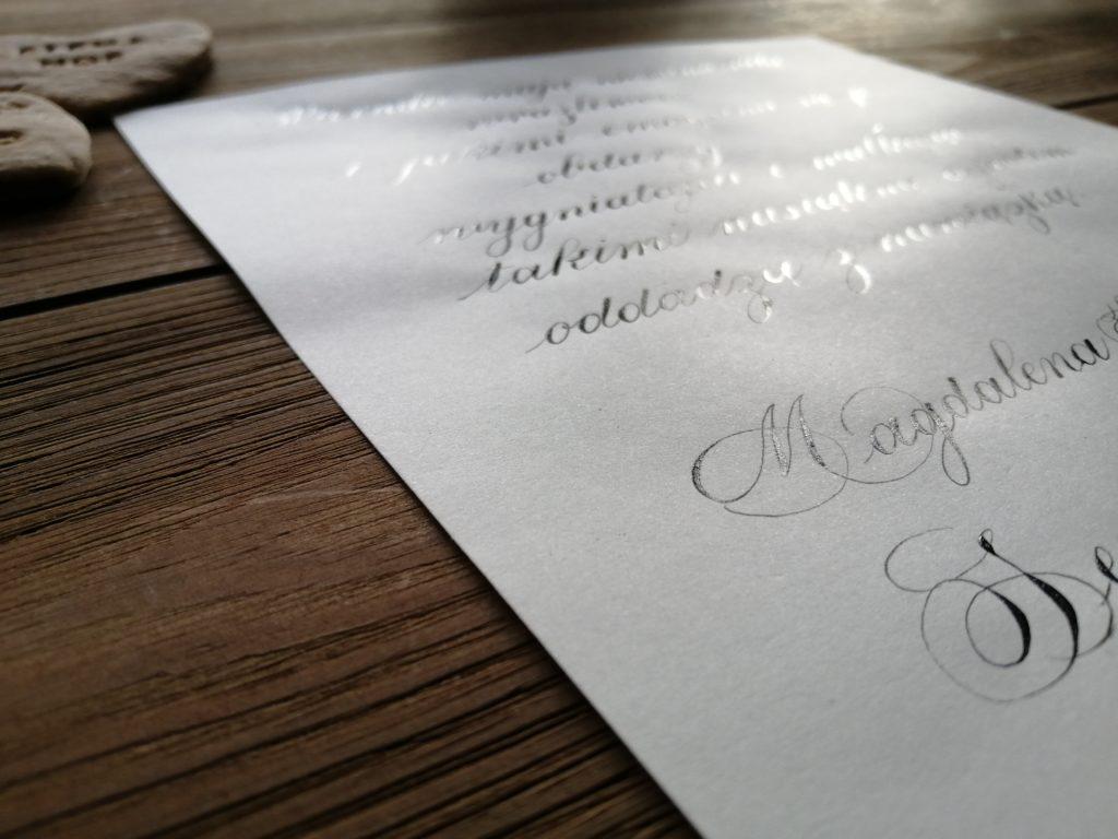 pierniczki kaligrafia, cook&calligraphy, I love calligraphy, polish calligrapher, fragmenty prozy kaligrafia, Magdalena Kordel kaligrafia, pierniczkowe serca, kaligrafia Wieliczka, kaligrafia Niepołomice, pasja