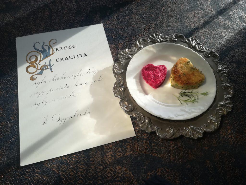 szybki obiad, dania wegetariańskie, rybka z buraczkami, food blogger, food&calligraphy, food and calligraphy