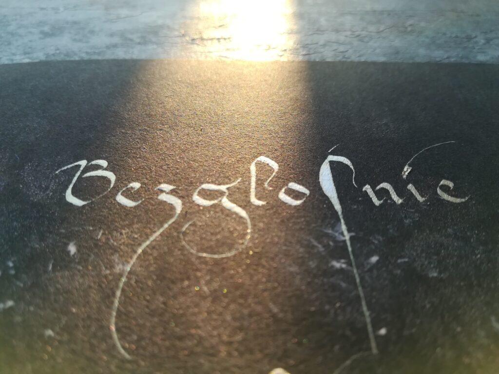 kaligrafia drogi, polska kursywa gotycka, haiku kaligrafia, haiku calligraphy